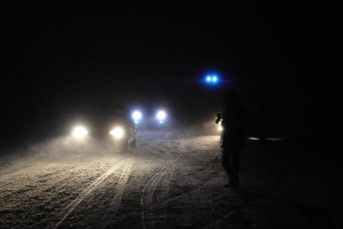Uşak'ta kar yağışı ulaşımı etkiledi